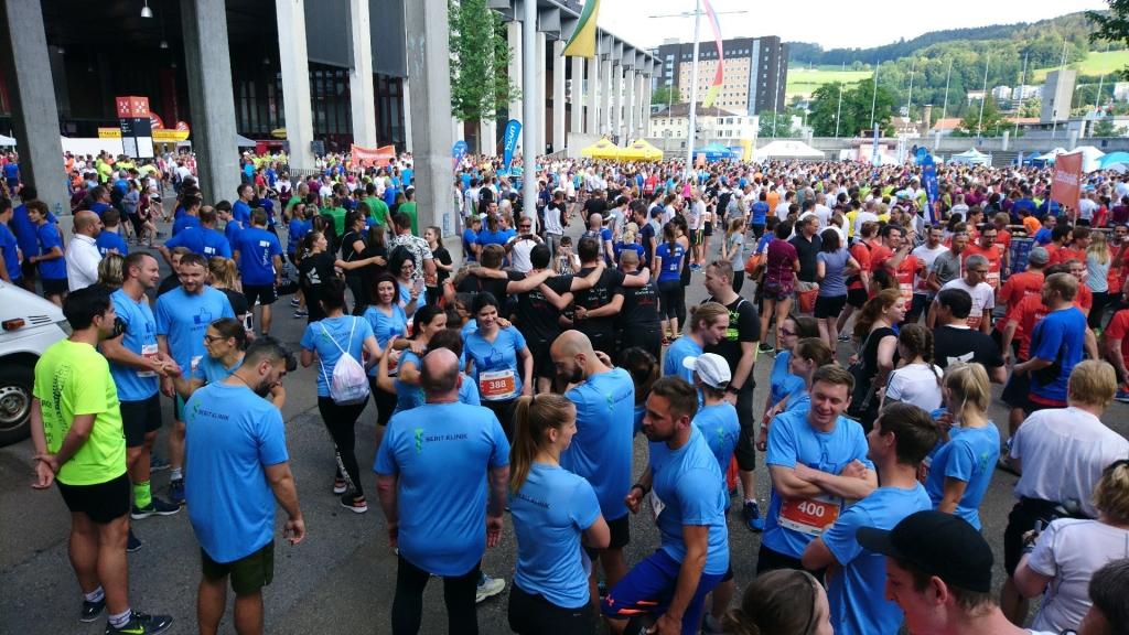 Berit Klinik - B2Run Firmenlauf St.Gallen