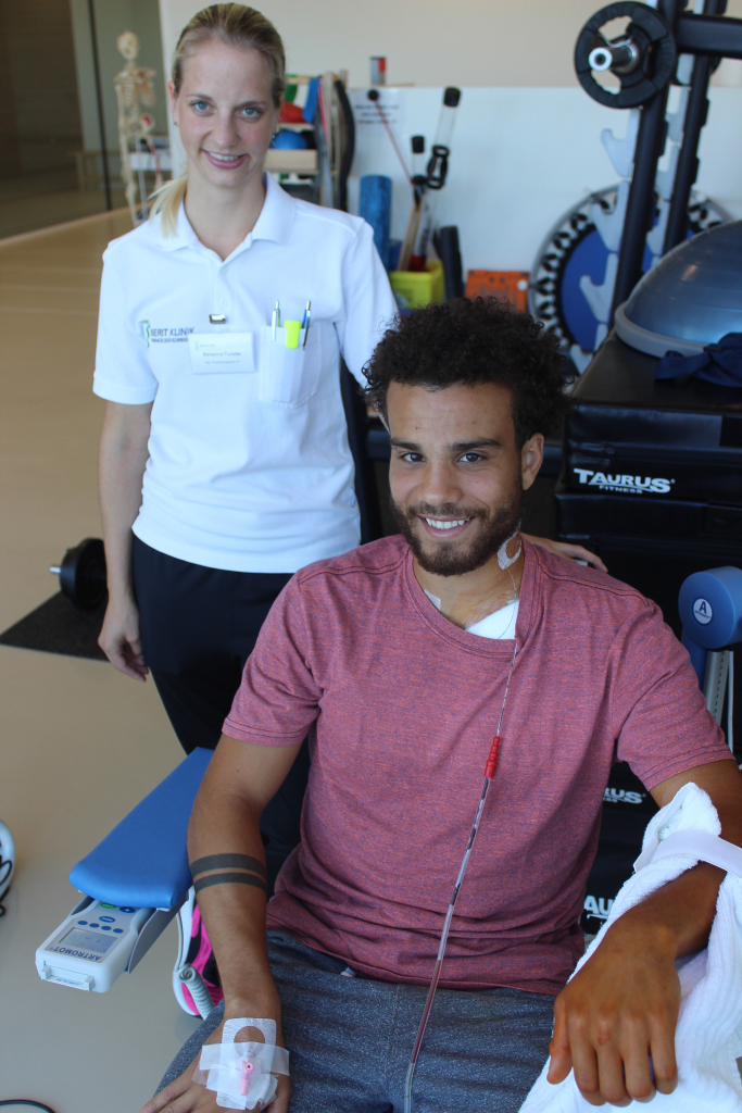 Erfolgreiche Operation von Nicolas Lüchinger in der Berit Klink