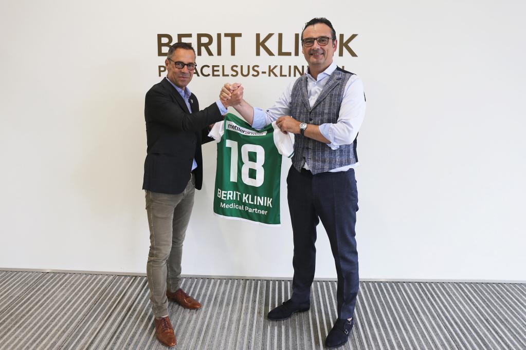 Berit Klinik ist neuer Medical Partner des FC St.Gallen 1879