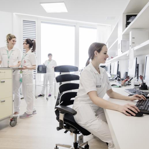 Berit Klinik Speicher - Betreuungsstation