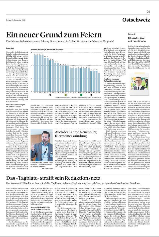 St.Galler Tagblatt 27.09.2019_2